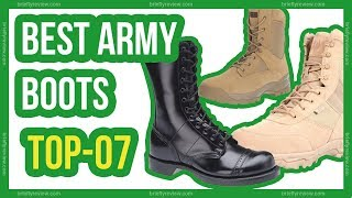 7 Best Army Boots 2018