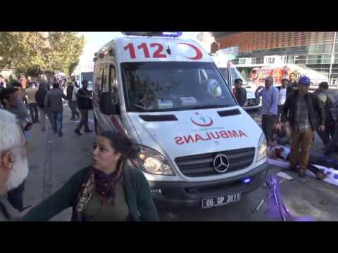 Ankara'da patlama: Onlarca ölü, çok sayıda yaralı var