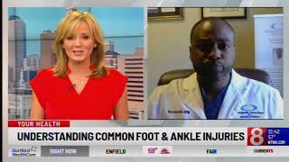 Foot, Ankle Injuries Common In Spring