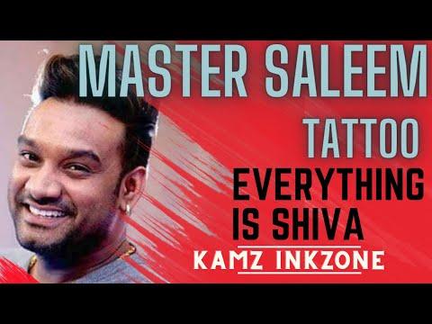 Official Video Of Master Saleem Getting Inked By Kamz Inkzone | 2018 |