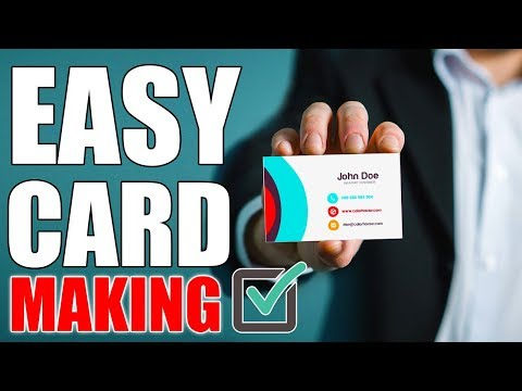 Design Professional Business Card Without Graphic Designing Knowledge | Urdu/Hindi