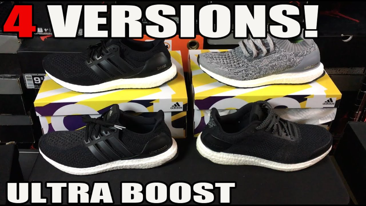 1984eb879e5f0 Comparing 4 Versions of adidas Ultra Boost (V1 vs V2