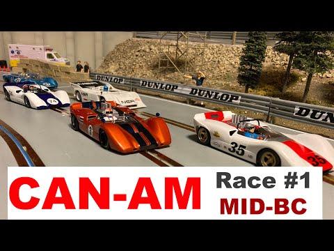CAN-AM Slot Car Race #1