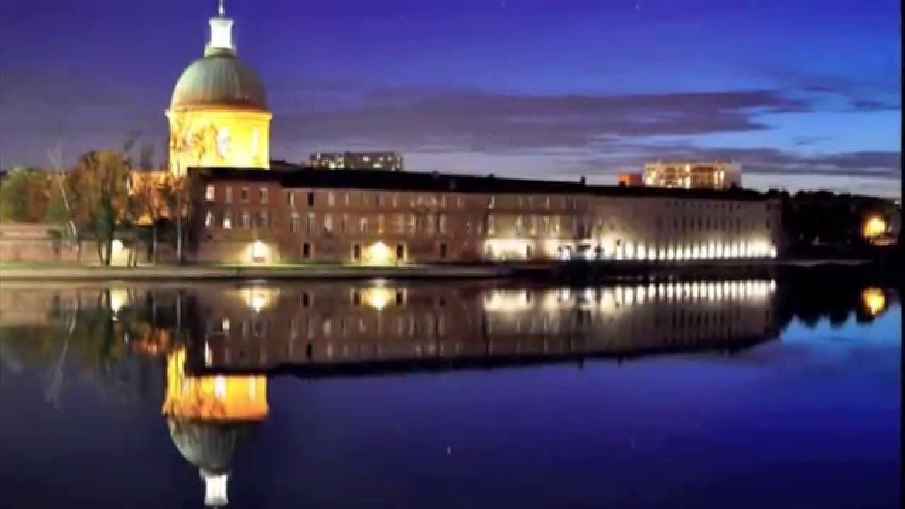 Toulouse la ville rose midi pyr n es france youtube for Piscine chapou toulouse