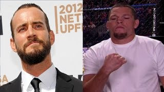 CM Punk reveals what happened when he ran into Nate Diaz at UFC 200