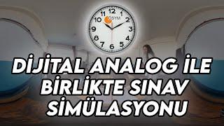 Analog Saat ile YKS Sınav Simülasyonu - Kendinizi Sınavda Hissedin