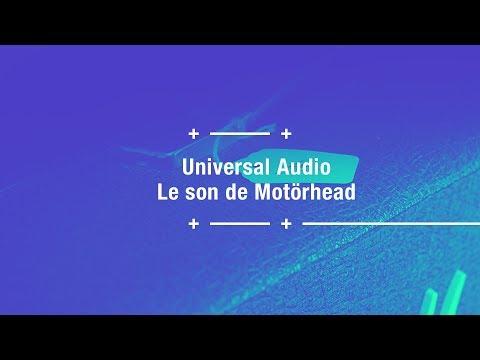 Le son de Motörhead avec des plugins UAD