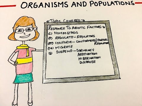organisms and population (part-2).Ncert notes | biology | class 12 thumbnail
