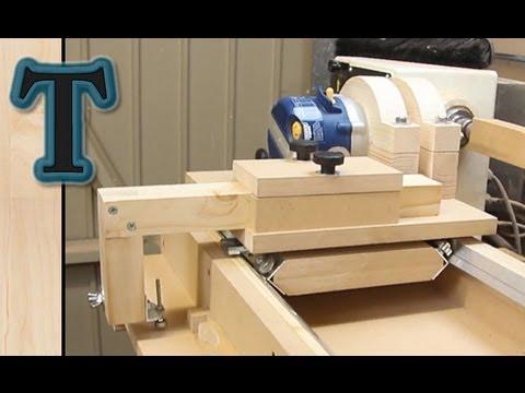 how to make a homemade lathe