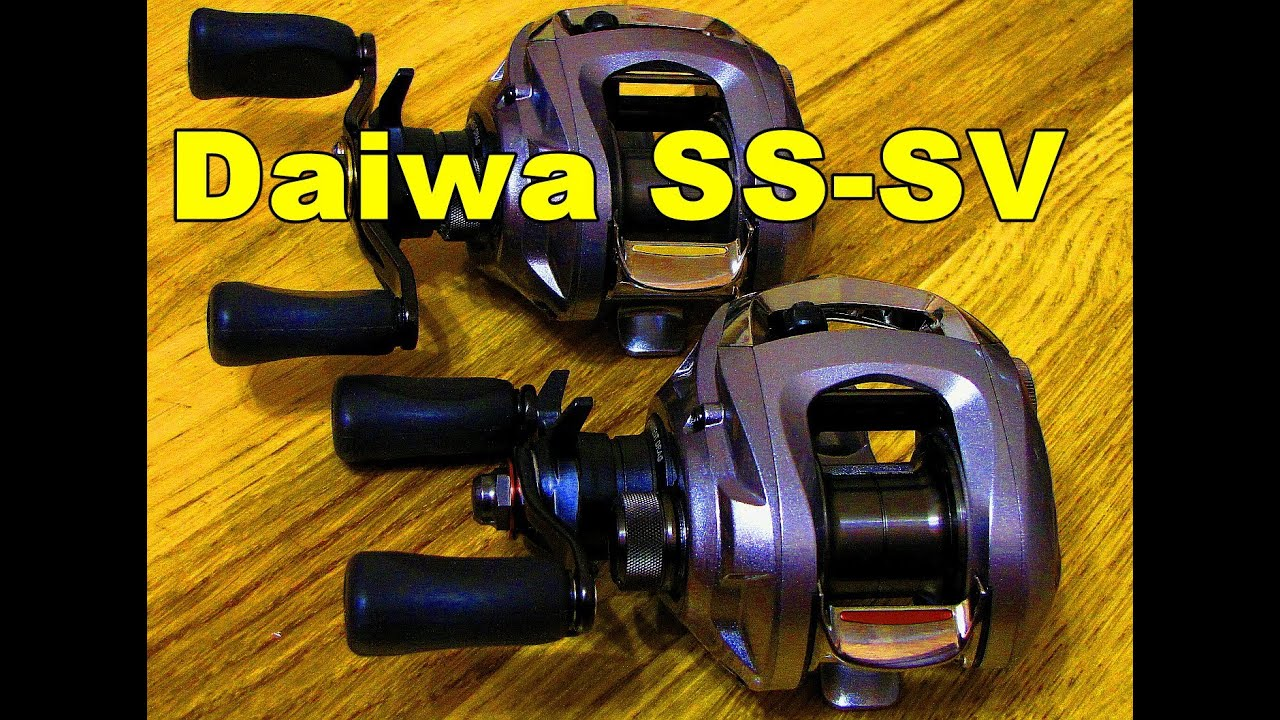 4fe5abd30ba Обзор катушки Daiwa SS SV 103 Casting Reels reviews - YouTube