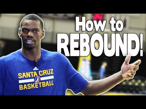 HOW TO REBOUND A BASKETBALL! | NBA Player Dewayne Dedmon | Santa Cruz Warriors #DubsAurQs