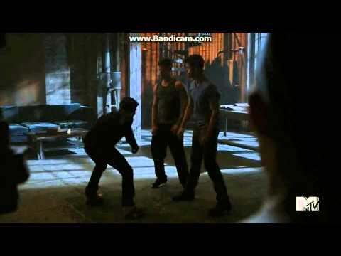 Teen Wolf - Twins Teaching Scott To Roar