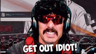 DrDisrespect Bored with Apex and Bans a Subscriber in RAGE!