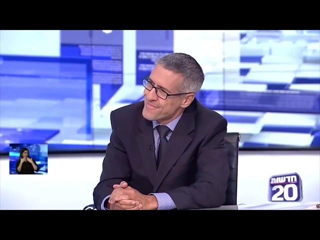 ערן פסטרנק בחדשות ערוץ 20 25.08.19