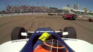 St.Petersburg Indy Lights 2014 Start