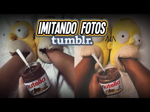 IMITANDO FOTOS TUMBLR !!!