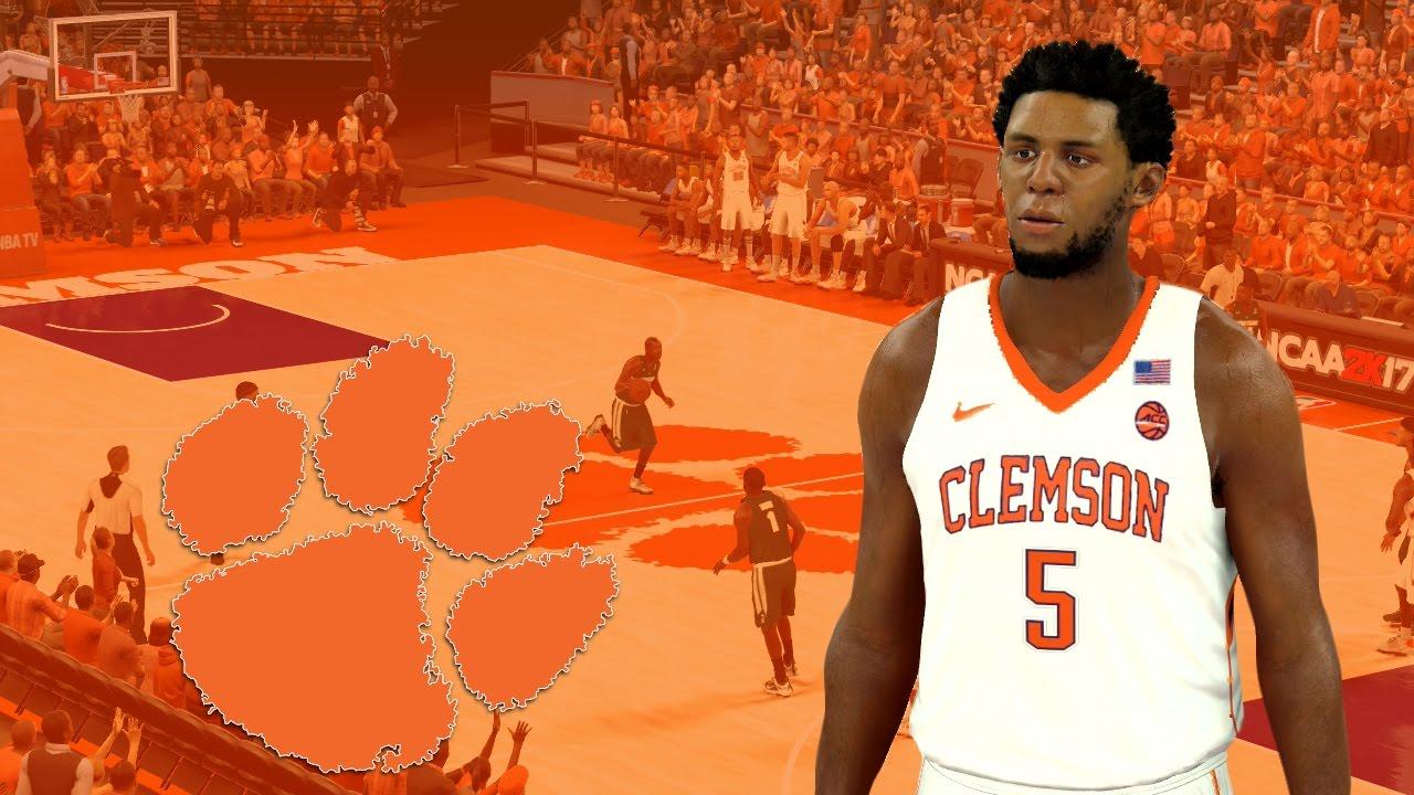 clemson tigers basketball jersey
