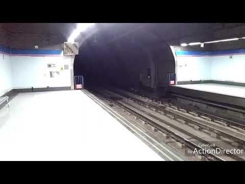 Metro de Madrid: Colombia (L8)