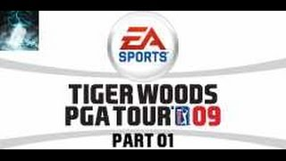 """Let's Play Tiger Woods PGA Tour 09 Part 1 """"Sheshan Tag 1 (Front 9)""""
