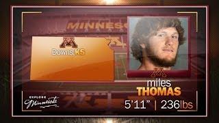 Gambar cover Miles Thomas Highlights: 2014 Gopher Football Signing Day
