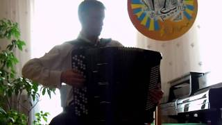 А Тимошенко У ворот ворот Plays Ivan Bykov Button Accordion
