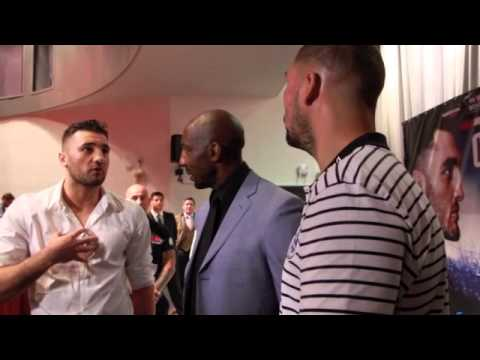 NATHAN CLEVERLY & TONY BELLEW REFUSE HANDSHAKE (W/ JOHNNY NELSON) EXTENDED 'RINGSIDE' FOOTAGE UNSEEN