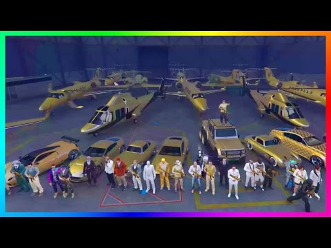 GTA ONLINE RICH MOVIE STARS & WEALTHY CELEBRITIES LUXURY FREEMODE SPECIAL W/ EXPENSIVE CARS & MORE!