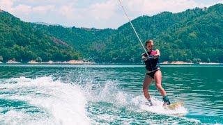 L'attrice e modella francesca colombo al lago del salto a fare wakeboard! clicca qui per vedere tutto il post blog: www.thelifesart.com