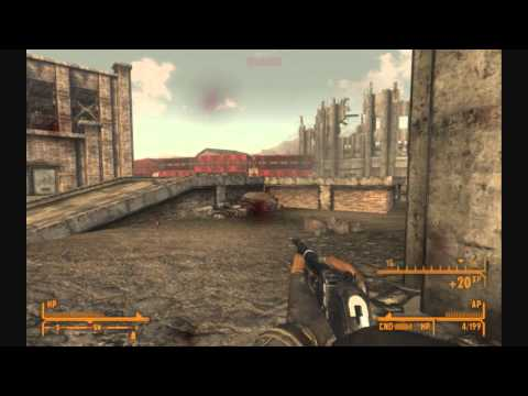 Fallout New Vegas: Brush Gun (.45-70) Montage
