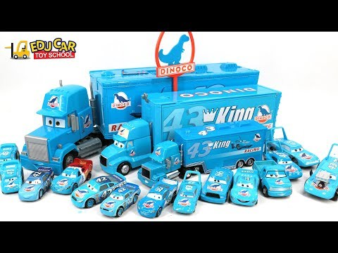 Thumbnail: Learning Color Special Disney Pixar Cars Lightning McQueen Mack Truck blue color for kids car toys