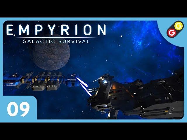 Empyrion #09 On sort avec notre premier vaisseau de combat ! [FR]