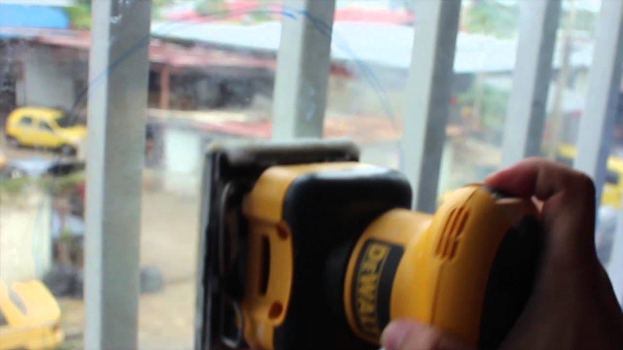 Limpiador de vidrios manchados y marcas de agua de nanotecnologia ...