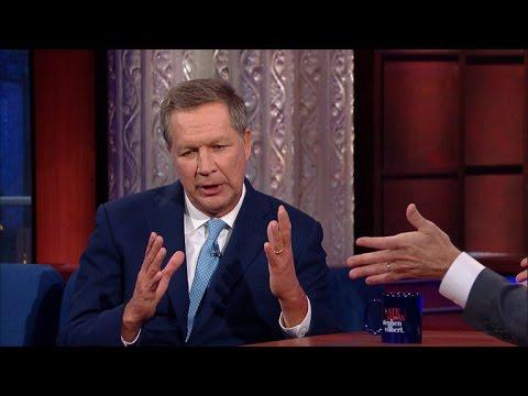 Stephen Grills John Kasich On Pot Legalization