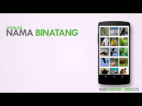 Nama Binatang - Aplikasi Android