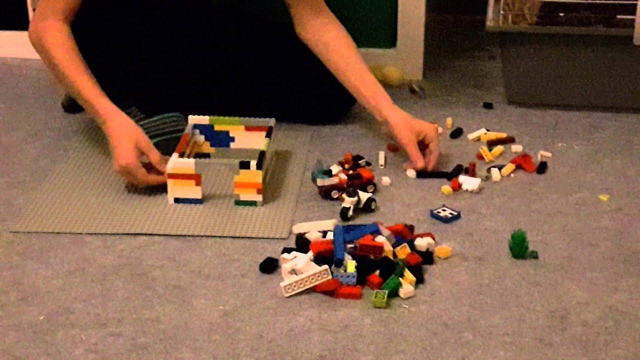 Lego Haus bauen