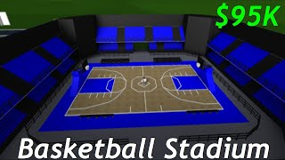 ROBLOX Bienvenue à Bloxburg Basketball Stadium Speed Build (en anglais seulement) 90 000 $