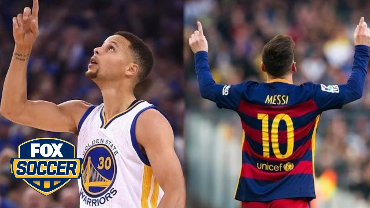 0503038ce Steph Curry and Leo Messi just did the ultimate jersey swap - YouTube