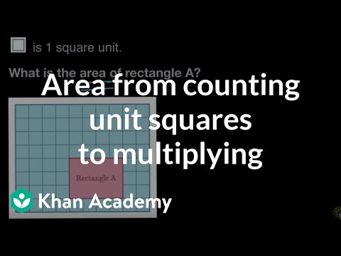 Transitioning from counting to multiplying to find area | 3r