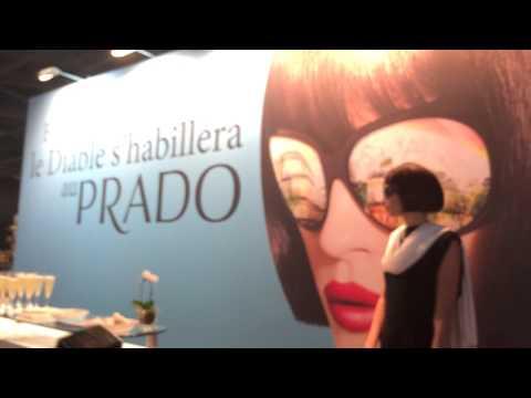 Le Diable arrive pour s'habiller au Prado Marseille