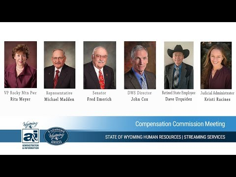 State of Wyoming Compensation Commission Meeting (11-17-17)
