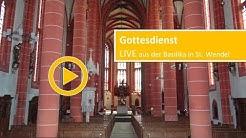 Livestream aus der Basilika St. Wendel, 14.06.2020 - Sonntag