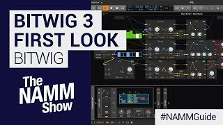 Bitwig 30 Modular Grid First Look | NAMM Show 2019