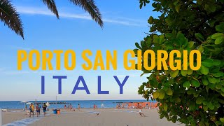 PORTO SAN GIORGIO ~ ITALY