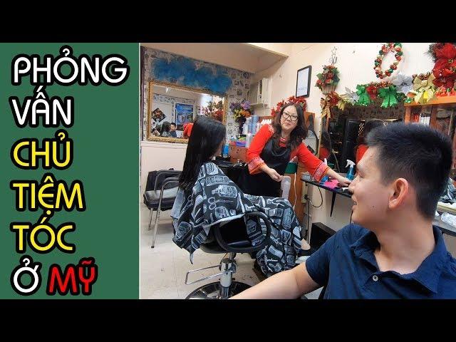 CUỘC SỐNG MỸ: NGHỀ CẮT TÓC Ở MỸ, PHẦN 2 | Tiểu Bang Washington | Quang Lê TV #203