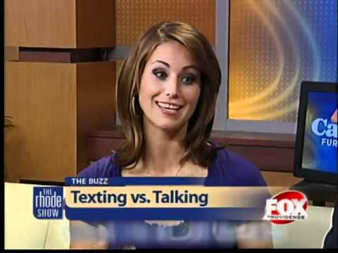 texting vs talking Compare and contrast essay: calling vs texting  there are bluetooth devices that allow you to talk while both of the driver's hands are on the wheel, and eyes.