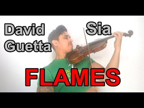 David Guetta & Sia - Flames by Douglas Mendes Violin Cover