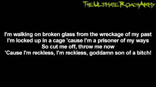Papa Roach - Reckless {Lyrics on screen} HD