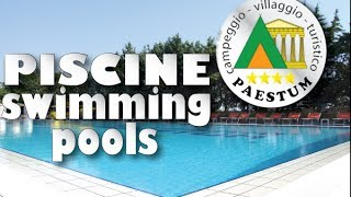Piscine - Swimming Pools - Campeggio Villaggio Paestum ****