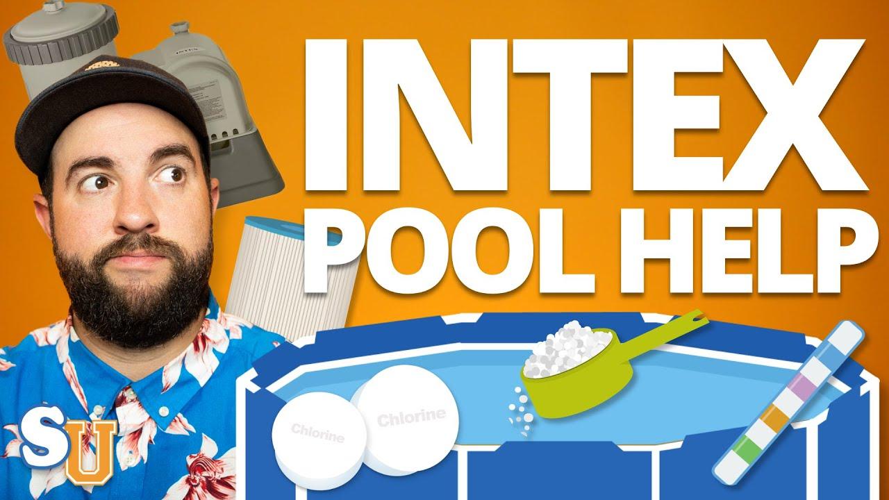 INTEX POOL MAINTENANCE For Beginners (Step-By-Step PLAN) | Swim University