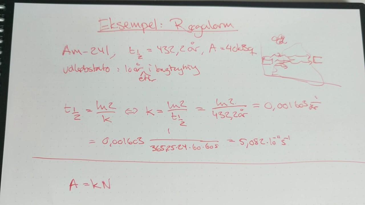 Fysik B Eksempel røgalarm
